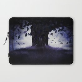 Misty oak tree Laptop Sleeve