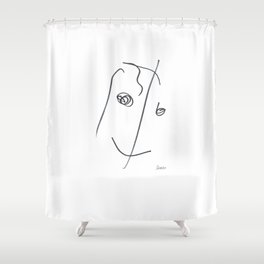 Demeter Moji d13 3-3 w Shower Curtain