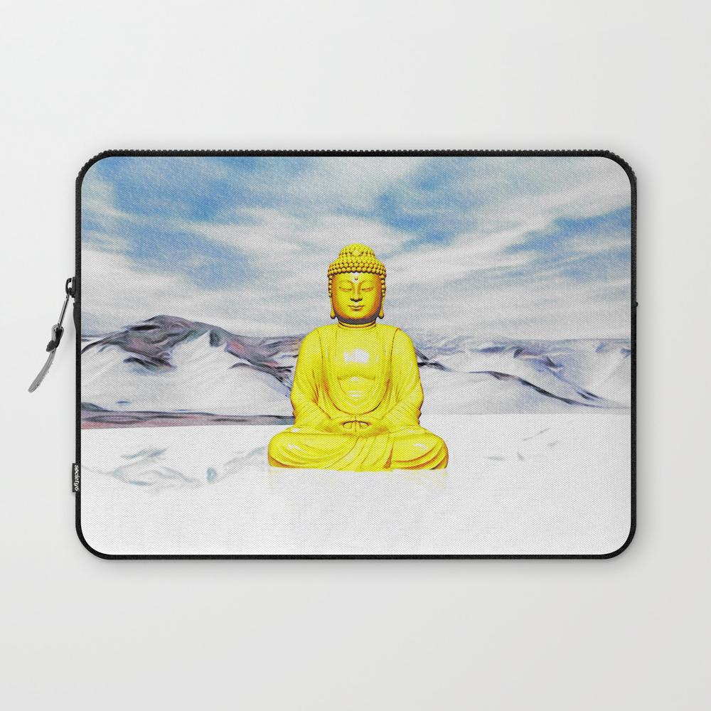 Serene Buddha Laptop Sleeve LSV8631691