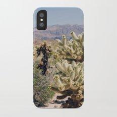 Joshua Tree Cactus Garden iPhone X Slim Case