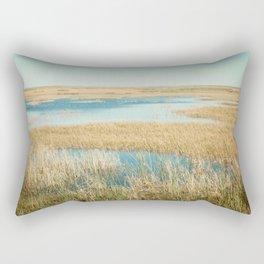 My Everglade backyard Rectangular Pillow