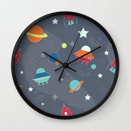 Space-Kids Wall Clock