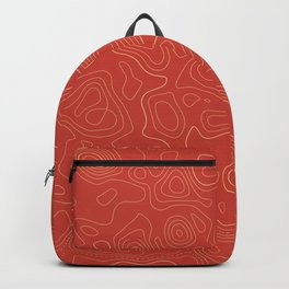 Topographic Map 02A Backpack