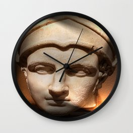 Lighted Antiquity Wall Clock