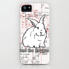 Rabbit, Rabbit, Rabbit iPhone Case