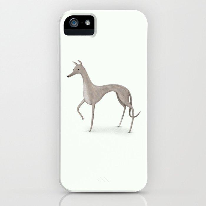 Whippet Portrait iPhone Case