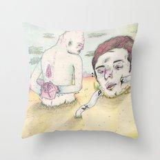 PROBLEMAS CON LAS PALABRAS Throw Pillow