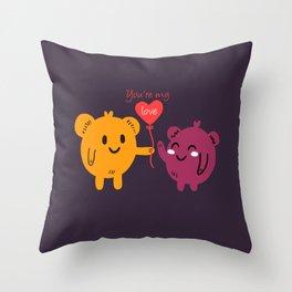 My Love Valentine Throw Pillow