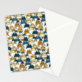 Nala Cat Hand Drawn Peacock Pattern Stationery Cards