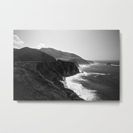 Bixby Creek Bridge Metal Print