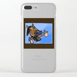 Aaah! III Clear iPhone Case