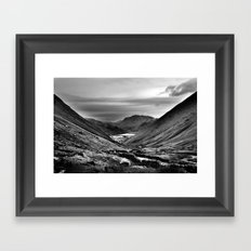 Lake District, England. Framed Art Print