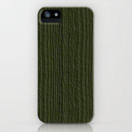 Cypress Wood Grain Texture Color Accent iPhone Case