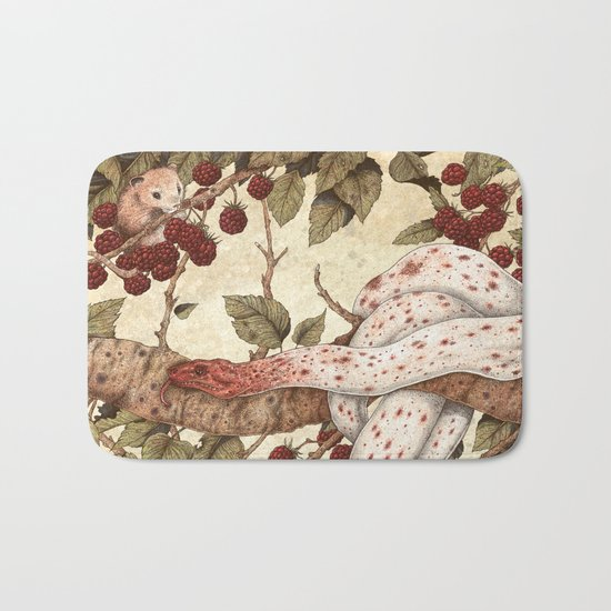 The Mouse and Snake Bath Mat
