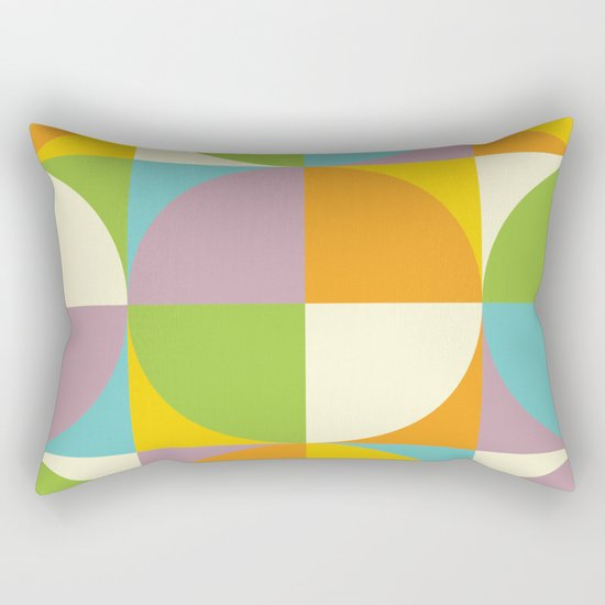 Quarters Quilt 2 Rectangular Pillow