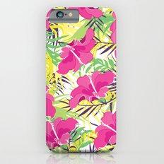 Tropic flowers Slim Case iPhone 6s
