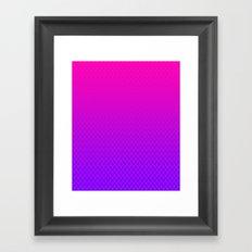 PolkaDots Framed Art Print
