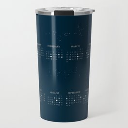 2019 Moon Phases Calendar Travel Mug