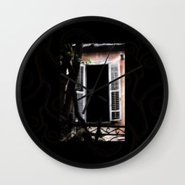 Enchanted Window no2 Wall Clock