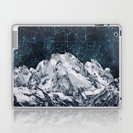 Constellations over the Mountain Laptop & iPad Skin