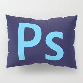 Adobe Photoshop Icon Pillow Sham