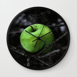 The Poison Apple Wall Clock