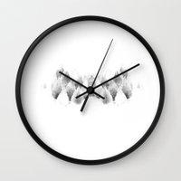 forrest Wall Clocks featuring Forrest by Anne Grön