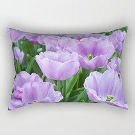 Mauve tulips Rectangular Pillow