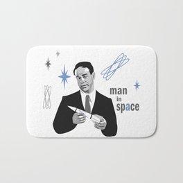 Man in Space Bath Mat