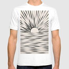 Minimal Sunrise / Sunset T-shirt