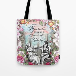 Excellent Library - Pride and Prejudice Tote Bag