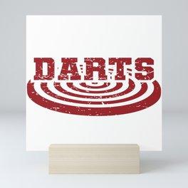 Darts WM Darts Arrow Dartboard Gift Mini Art Print