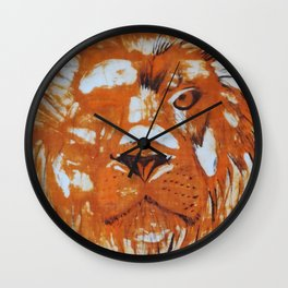 Are you strong like a lion? Wall Clock