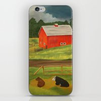 farm iPhone & iPod Skins featuring Farm by ArtSchool