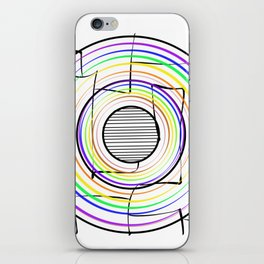 Dizziness iPhone Skin