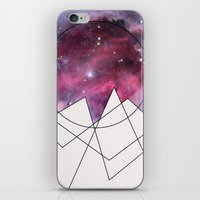outer space iPhone & iPod Skins featuring Outer Space by FlurinaJT