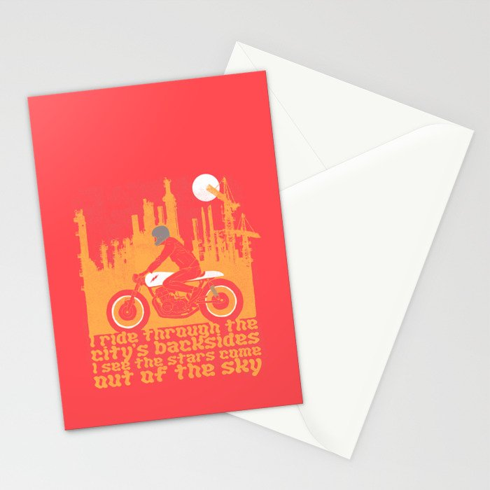 city's backsides Stationery Cards