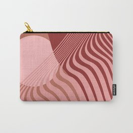 Beyond The Fog - Bronze Maroon Carry-All Pouch