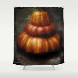 Nice Set Of Gourds Shower Curtain