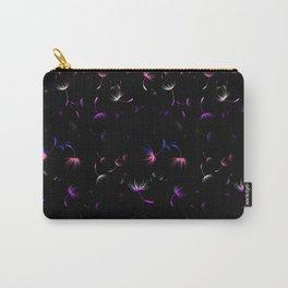 Dandelion Seeds Genderfluid Pride (black background) Carry-All Pouch