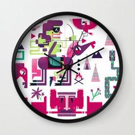 Indians Wall Clock