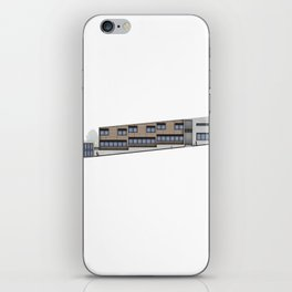 School Facade iPhone Skin
