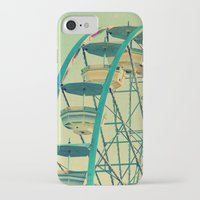 ferris wheel iPhone & iPod Cases featuring Ferris Wheel  by RDelean