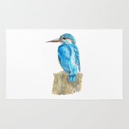 The Kingfisher Rug
