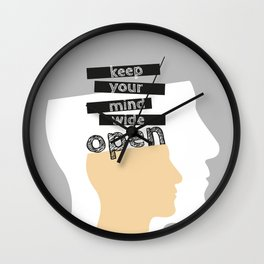 OpenMind Wall Clock