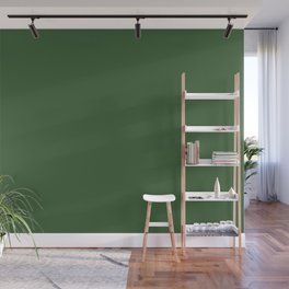 Kiss of Spring ~ Green Coordinating Solid Wall Mural
