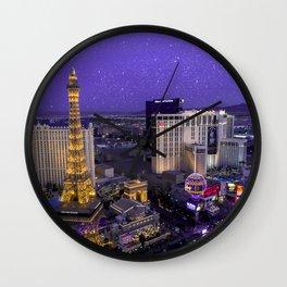 Vegas starlight Wall Clock