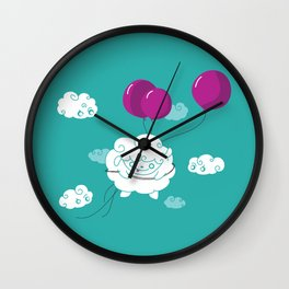 Don't Let the Sceptics get you Down Wall Clock