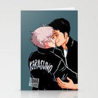 johannathemad Stationery Cards featuring daisuga by JohannaTheMad