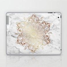 Mandala - Marble gold Laptop & iPad Skin